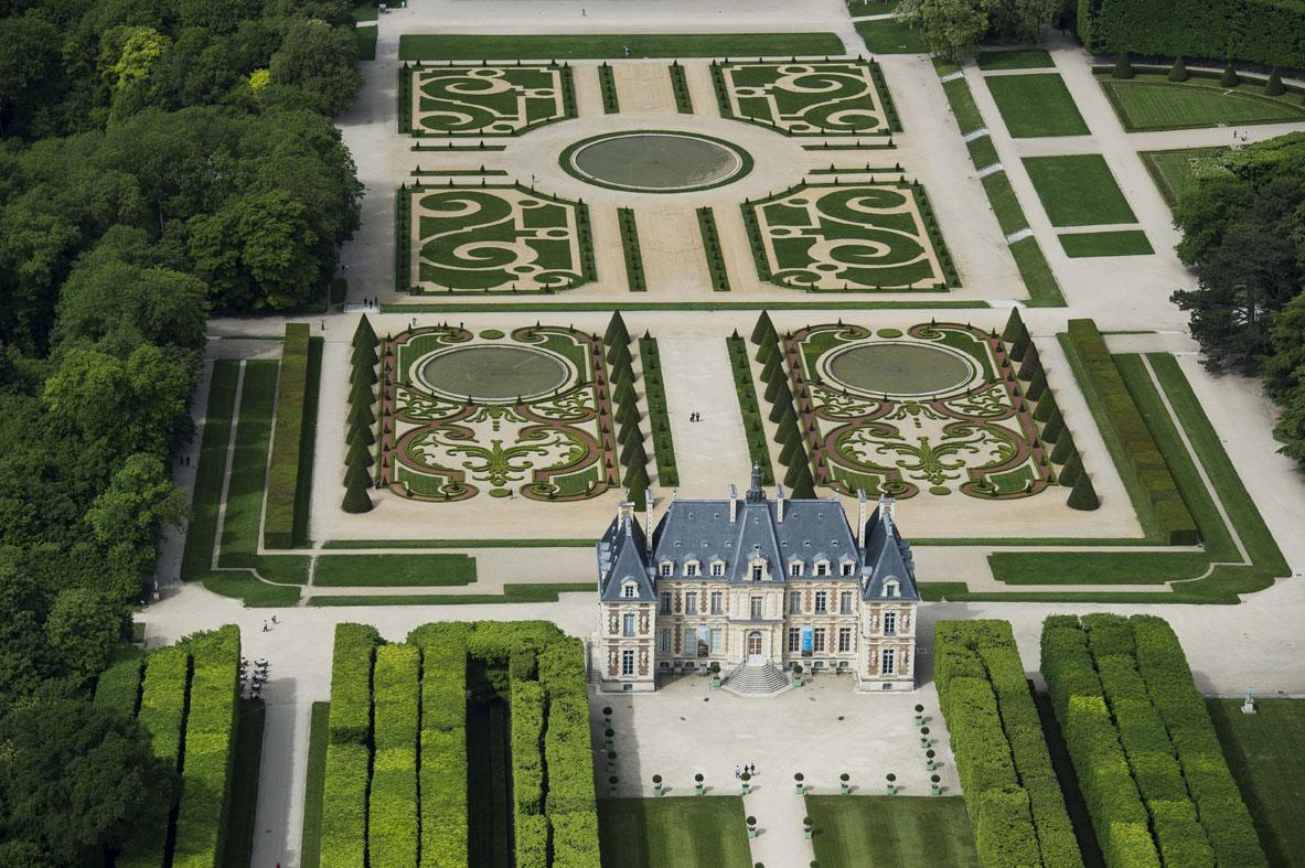 Jardin Classique À La Française présentation - domaine départemental de sceaux